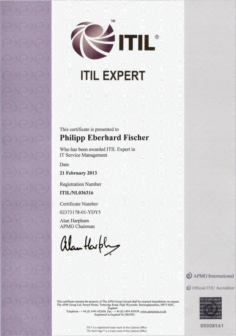 Suigenerisdata references certificate itil expert xflitez Gallery